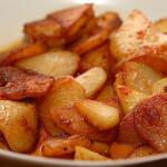 Как пожарить картофель в мультиварке